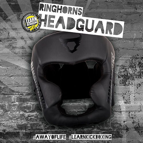 Ringhorns Charger Headgear (Black/Black)