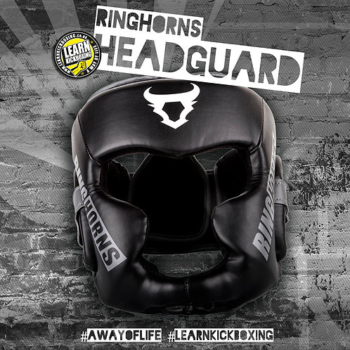 Ringhorns Charger Headgear (Black)