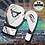 Thumbnail: RINGHORNS NITRO BOXING GLOVES - WHITE