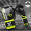 Thumbnail: RINGHORNS CHARGER MX BOXING GLOVES - BLACK/NEO YELLOW