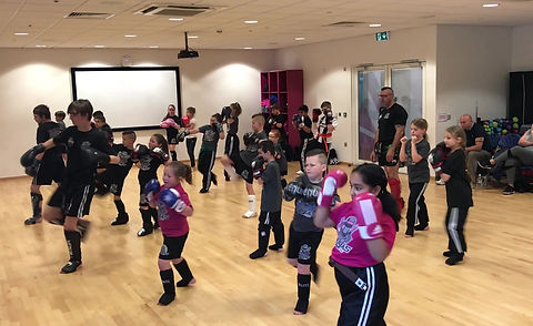 junior kickboxing at bilborough