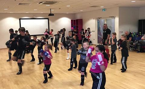 junior kickboxing at bilborough