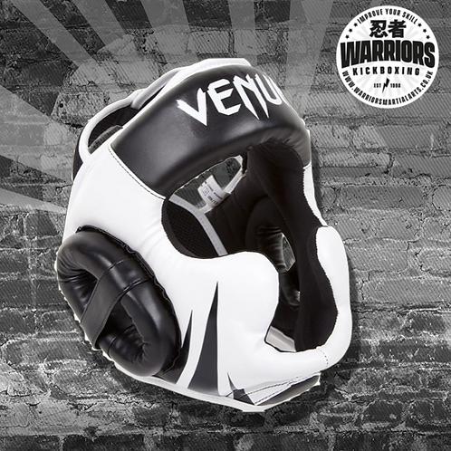 VENUM CHALLENGER 2.0 HEADGEAR - BLACK/WHITE