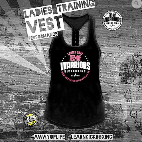 Warriors Ladies Only Kickboxing Performance Training Vest (Ladies)