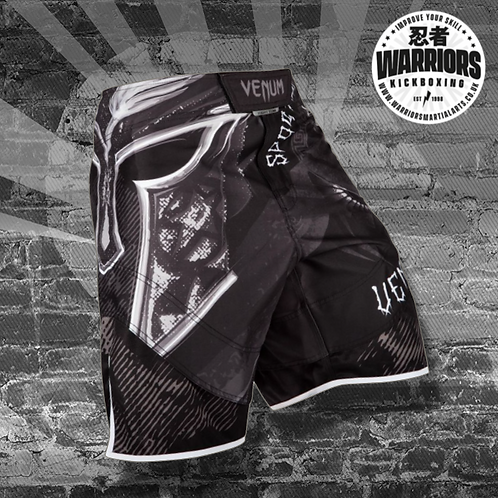 VENUM GLADIATOR 3.0 FIGHTSHORTS - BLACK/WHITE