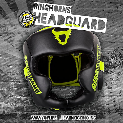 Ringhorns Charger Headgear (Black/Yellow)