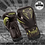 Thumbnail: VENUM IMPACT BOXING GLOVES - BLACK/BRONZE or BLACK/NEO YELLOW