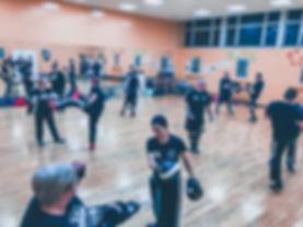 Adult kickboxing classes in Hucknall Nottingham