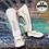 Thumbnail: VENUM ELITE STANDUP SHIN GUARDS - WHITE/GOLD