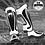 Thumbnail: VENUM PREDATOR STANDUP SHIN GUARDS - BLACK/ICE