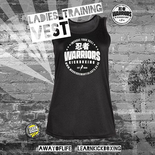 Kickboxing Training Vest (Ladies)