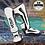 Thumbnail: VENUM ELITE STANDUP SHIN GUARDS - WHITE/BLACK