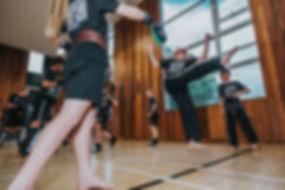 kickboxing at Kimberley