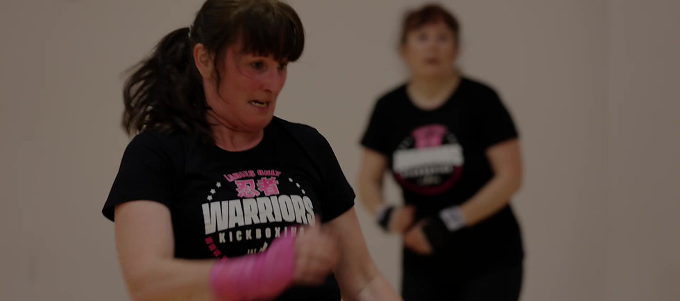 Ladies only kickboxing classes in derby and kirkby in ashfield