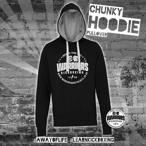 Warriors Kickboxing Chunky Pull Over Hoodie (Adult)