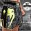 Thumbnail: VENUM GIANT CAMO MUAY THAI SHORTS - BLACK/YELLOW