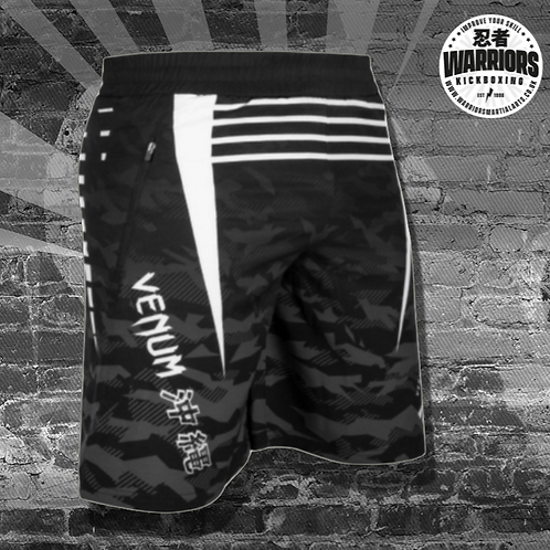 VENUM OKINAWA 2.0 TRAINING SHORTS - BLACK/WHITE