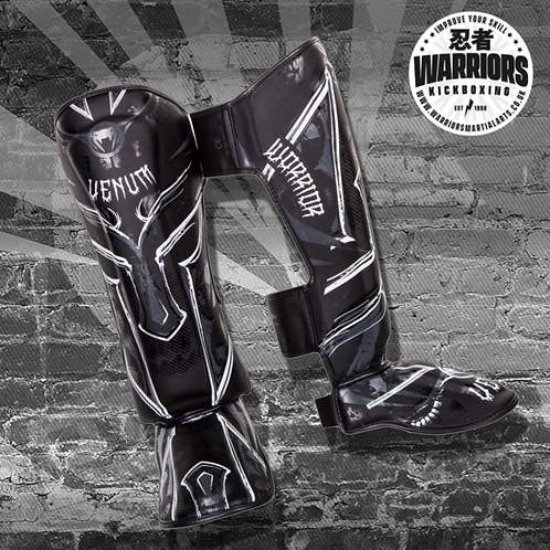 VENUM GLADIATOR 3.0 SHIN GUARDS - BLACK/WHITE & BLACK/BLACK