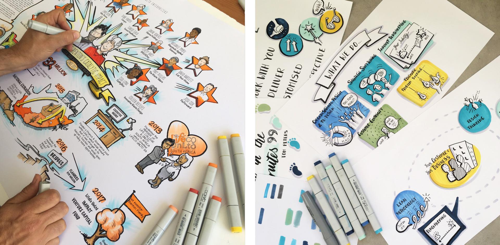 Studio Illustrations