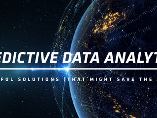 Predictive Data Analytics: Beautiful Solutions (That Might Save the World)
