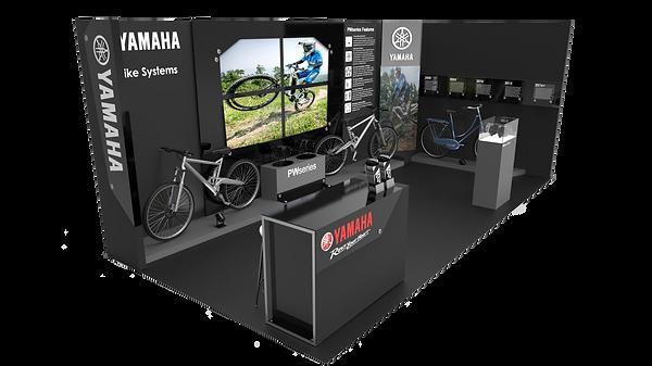 Yamaha Tradeshow Booth