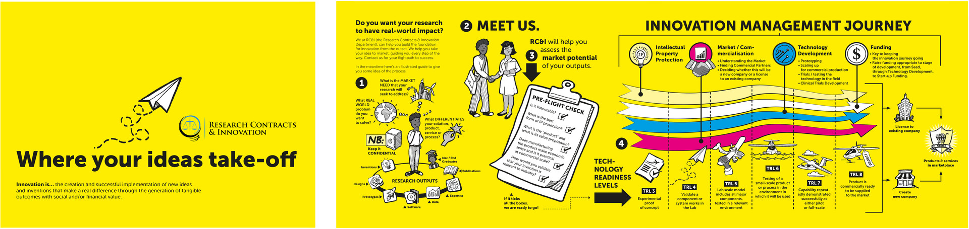 UCT Research Contracts & Innovation Brochure