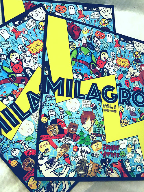 MILAGRO: Graphic Novel Book