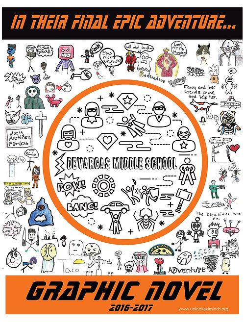 DEVARGAS: Graphic Novel Book