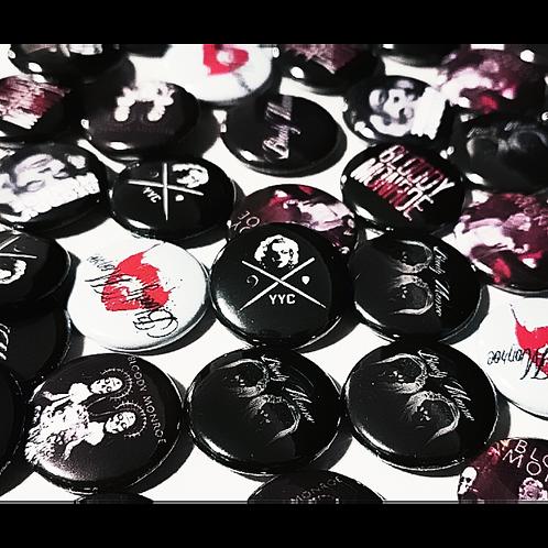 Bloody Monroe Pins