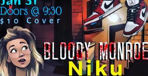 Bloody Monroe Live @ Vern's Tavern Jan 31st 2020