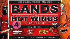 Bloody Monroe vs. Hot Wings !!!