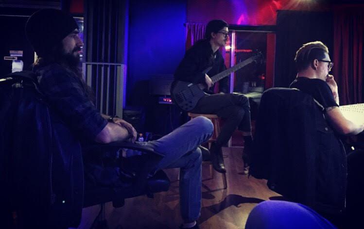 Recording @ The Beach Studios