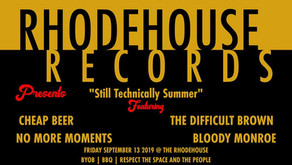 Bloody Monroe Live @ The Rhodehouse Friday September 13th 2019