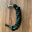 Thumbnail: Lead rope, black with green fleck, 12mm, small