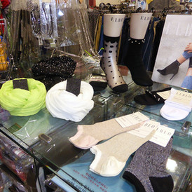 Socken und Schal