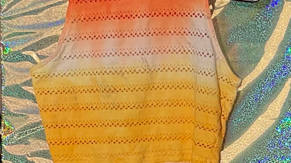 Sunrise Tie-Dye Crop Top