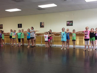 First Leaps & Turns Class of the Fall! There's still time to register for the 14-15 season!