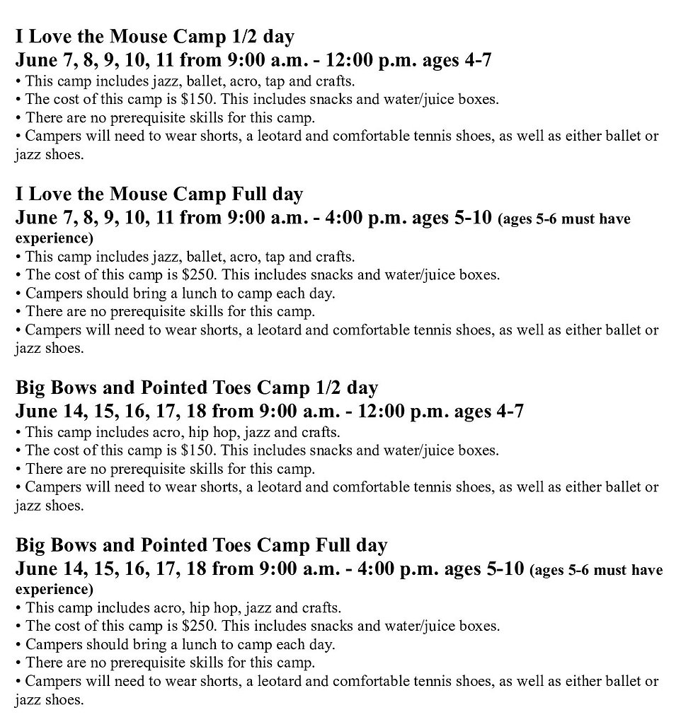2021 Summer Camps to Post - New font_002
