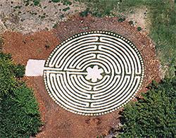 Labyrinth at the Naramata Centre