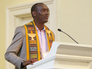Burundi Minister's Journey To Become a Canadian Unitarian Minister