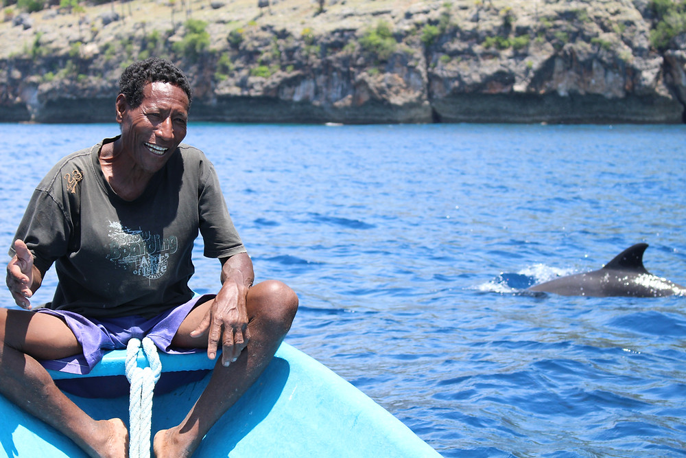 Local fishermen are keen to develop cetacean tourism
