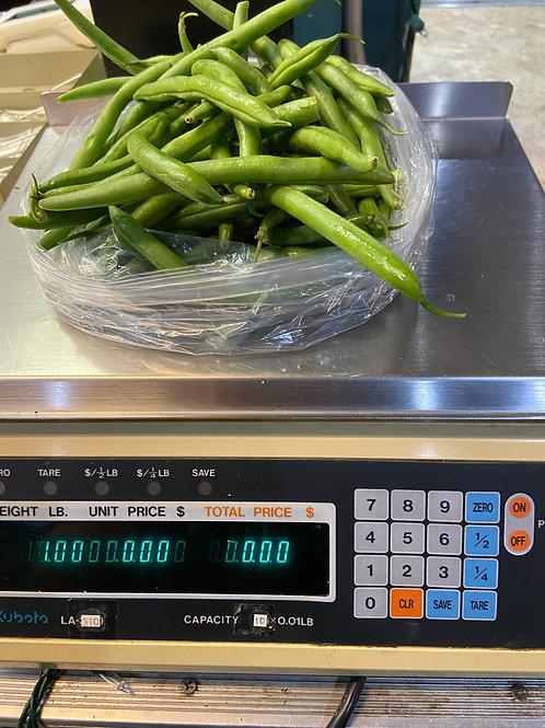 Homegrown Green Beans -1lb bag