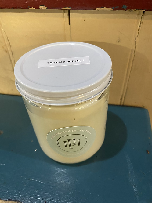 Pineapple House Creations Tobacco Whiskey Candle