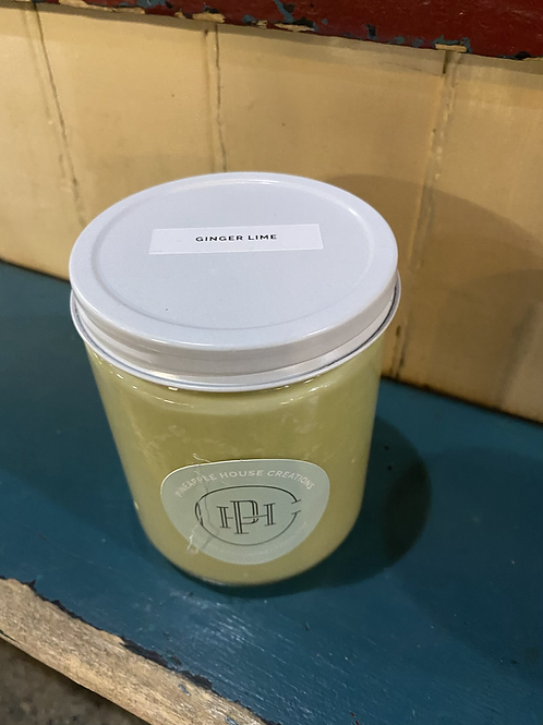 Pineapple House Creations Ginger Lime Candle