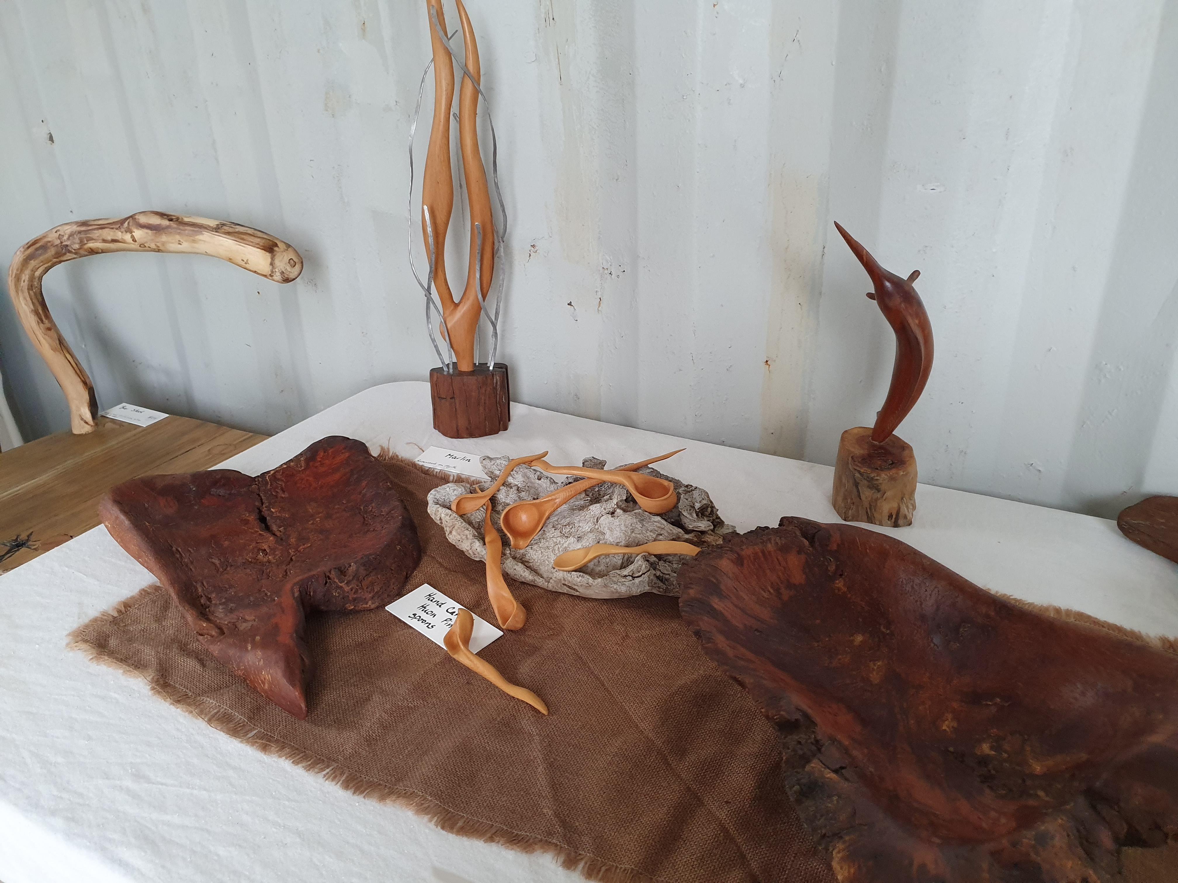 driftwood bowls huon pine spoons