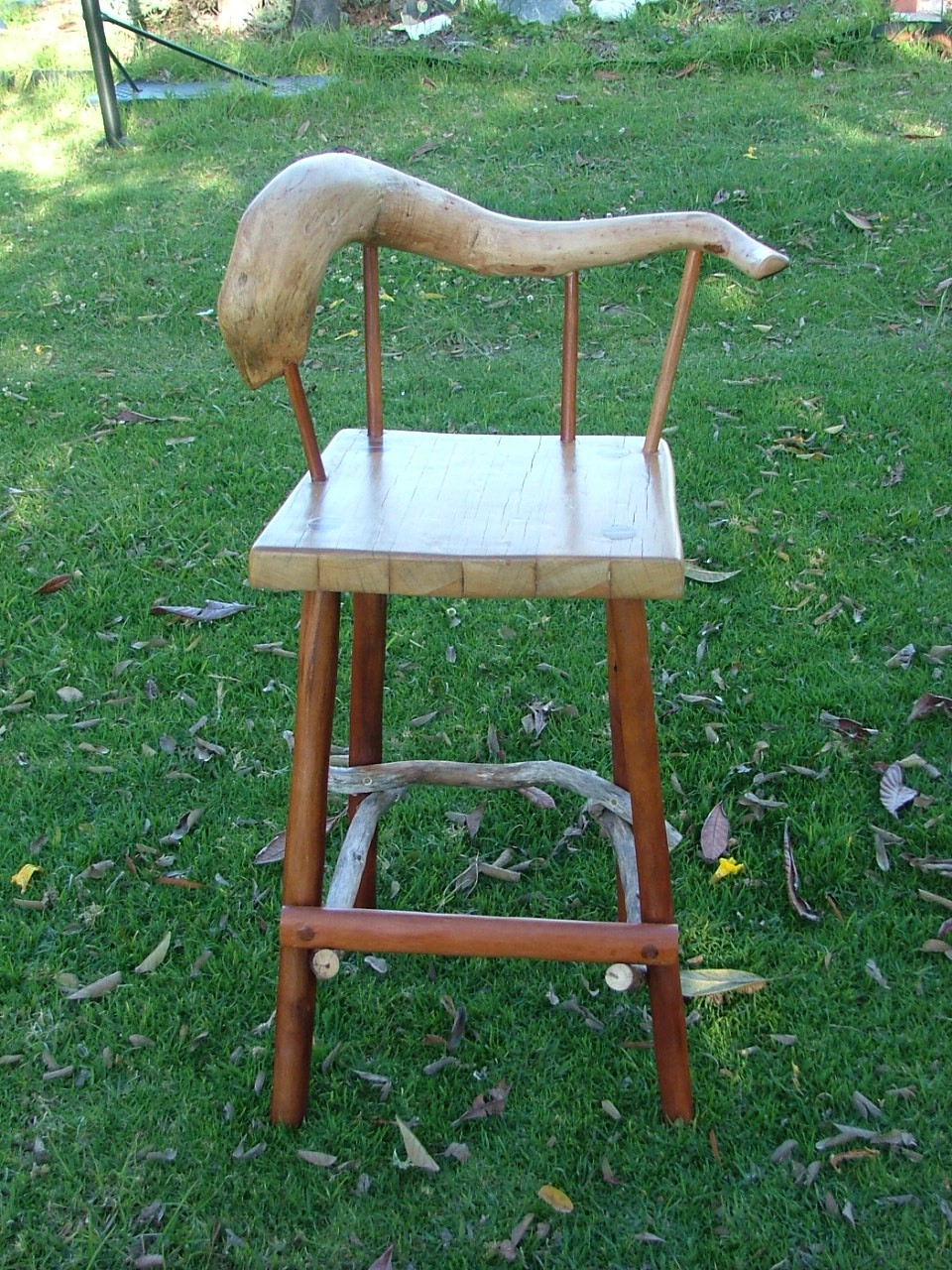 G n T Chair - Fig Tasmanian Oak and Rose