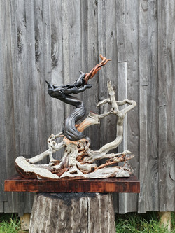 dragon trophy commission - driftwood and