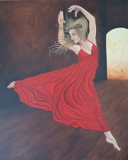 women of passion - red dancer