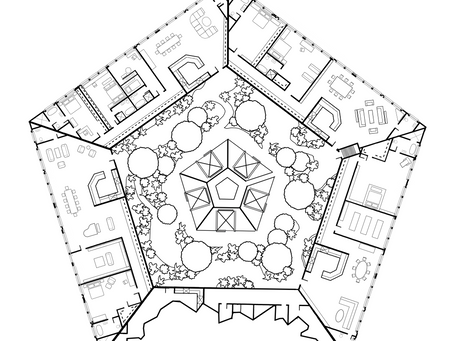 Sentinel Plaza Blueprint