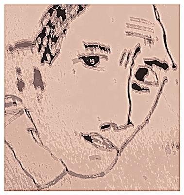 Portrait monochrome